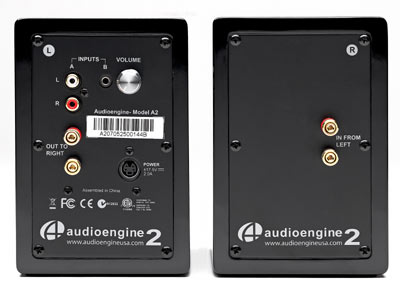audioengine a2 rear